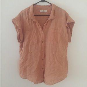 Thread & Supply Linen Button up Shirt